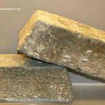 Lingots estampillés provenant de Grande Bretagne, Plomb, Epoque gallo-romaine, Sassenay (S.-et-L.) et Châtenoy-le-Royal (S.-et-L.). © musée Denon