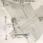 Plan du domaine gallo-romain de la Vigne de Saule à Saint Rémy, Site découvert en 1937, fouillé entre 1966 et 1970. © musée Denon