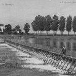 Barrage à aiguilles à Gigny-sur-Saône