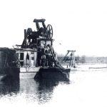 Drague à vapeur, Début XXe siècle