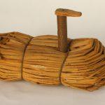 Leurre utilisé lors de la chasse au canard, Bois et roseau