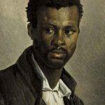 ANONYME, anciennement attribué à GERICAULT, Portrait d'un Noir, début XIXe, huile sur toile, 46 x 38 cm. © musée Denon / Philip Bernard