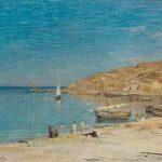 Adolphe APPIAN, Le Port de Collioures, fin XIXe, huile sur toile, 36 x 66 cm. © musée Denon / Philip Bernard