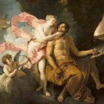 Lucas AUGER, Vénus dans la forge de Vulcain, XVIIIe, huile sur toile, 82 x 131 cm. © musée Denon / Philip Bernard
