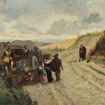 Edmond ANDRE, Brigands pour les oiseaux, 1874, huile sur toile, 86 x 130 cm. © musée Denon