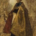 Thomas COUTURE, Le Maître de cérémonie de Notre-Dame, 1856, huile sur toile, 72 cm x 59 cm. © musée Denon / Philip Bernard