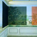 Restaurer, 1994. Peintures, collage. Chez l'un, chez l'autre, galerie Weller, paris. © Marc Domage