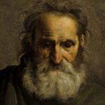 ANONYME, anciennement attribué à GIRODET, Tête de vieillard, début XIXe, huile sur toile, 48 x 39 cm. © musée Denon / Philip Bernard
