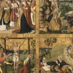 Retable de saint Blaise (deuxième volet), huile sur bois, 95 x 80 cm, début XVIe. © musée Denon / Philip Bernard