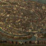 Attribué à Leandro Da Ponte dit BASSANO, Vue de Venise, fin XVIe - début XVIIe, huile sur toile, 144 x 235 cm. © musée Denon / Philip Bernard