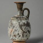 Lécythe aryballisque pour parfum,  Campanie ou Apulie, Italie du Sud, IVè siècle av.J.-C.