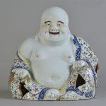 Bouddha rieur, assis, Ivoire sculpté, Chine, Don Henri Soret. © musée Denon