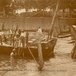 Scaphandriers avant la plongée, Saint-Germain-du-Plain, © archives départementales de Saône-et-Loire