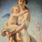 Marie-Joséphine NICOLAS, épouse DRAPIER, Qui vivra verra, 1880, huile sur toile, 130 x 82 cm. © musée Denon