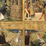 Retable de saint Blaise (troisième volet), huile sur bois, 95 x 80 cm, début XVIe. © musée Denon / Philip Bernard
