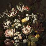 Hans Bollongier. Vase de fleurs, 1640. Huile sur bois. 88x71 cm. © musée Denon - Philip Bernard