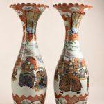 Paire de vases, Arita, 2nde moitié du XIXe siècle, inv.978.1385 et 1386, musée Saint-Remi, Nancy