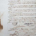 Délibération du conseil municipal de Chalon-sur-Saône officialisant la création du musée Denon