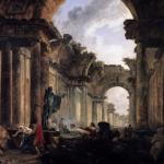 Hubert Robert, La grande galerie du Louvre, 1796