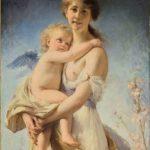 Marie-Joséphine NICOLAS, épouse DRAPIER [1845-1903],  Qui vivra verra, 1880  Huile sur toile,   Œuvre présentée au Salon de 1881, n°1727